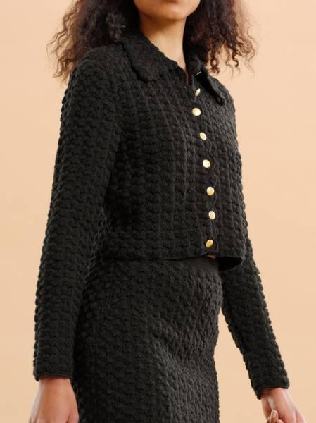 Bilde av By TiMo Wool Crochet Jacket
