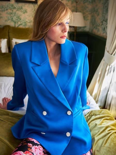 Bilde av Cras Samy Blazer Strong Blue