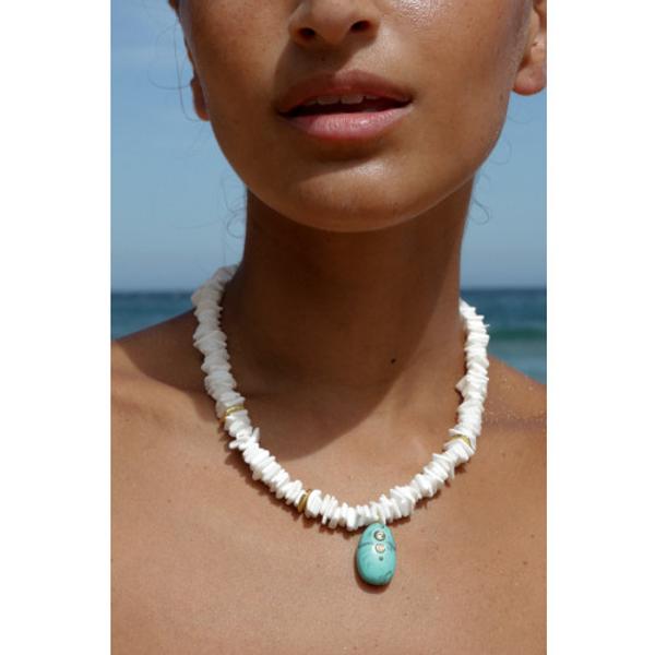 Bilde av Anni Lu Pebble Beach Necklace