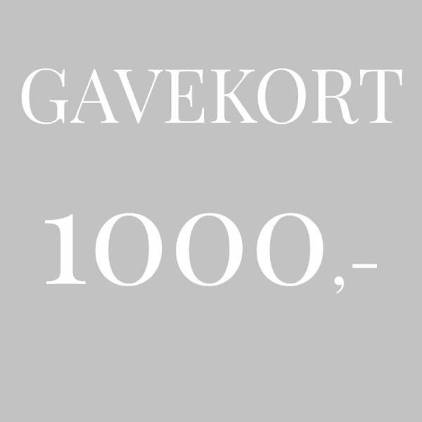 Bilde av Gavekort 1.000,-