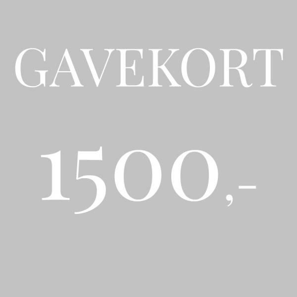 Bilde av Gavekort 1.500,-